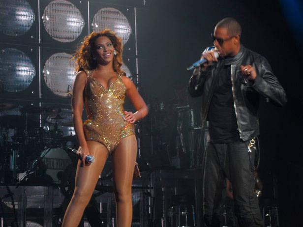 Beyoncé y Jay-Z por idrewuk