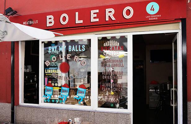 Fachada de Bolero Meatballs