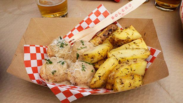 De pollo con patatas