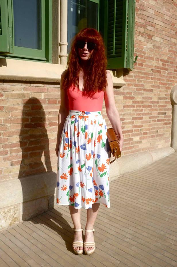 Streetstyle en la 080 BCN Fashion Week