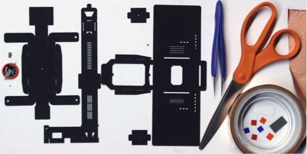 Microscopio de papel