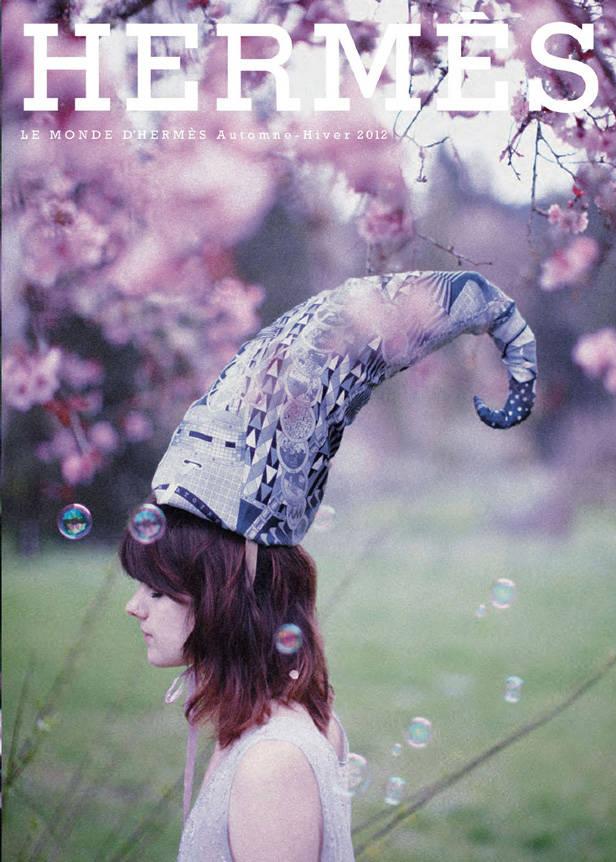 Campaña de Hermès fotografiada por Olivia Bee