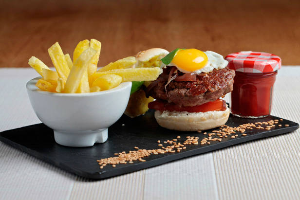 Hamburguesa en Bogg