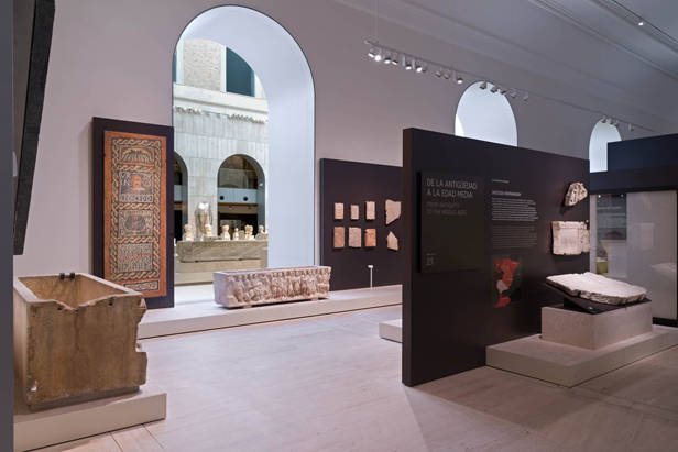 Pasillos del Museo Arqueológico