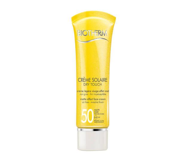 Crema protectora dry touch SPF 50+  de BIOTHERM