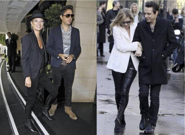 Kate Moss y sus imprescindibles blazers.