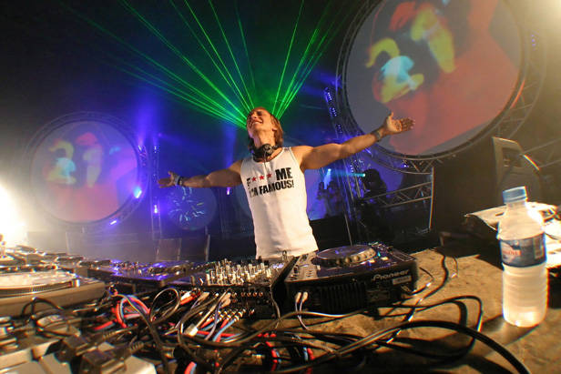 David Guetta en Pachá