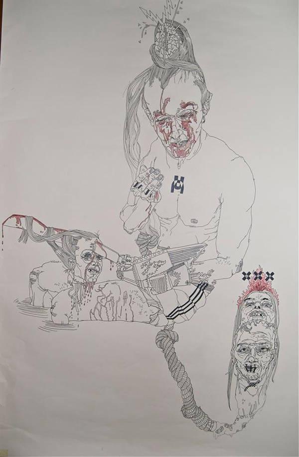 Dibujo por María Forque
