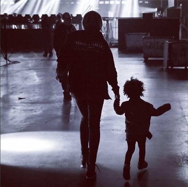 Beyoncé y Ivy (Foto Beyoncé)