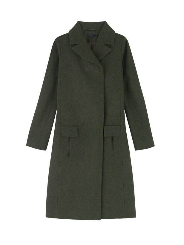 Abrigo verde militar, de COS.