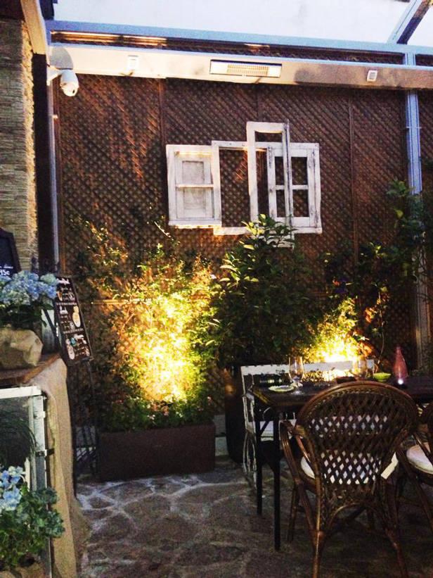 Jardín en la tienda de Salvador Bachiller