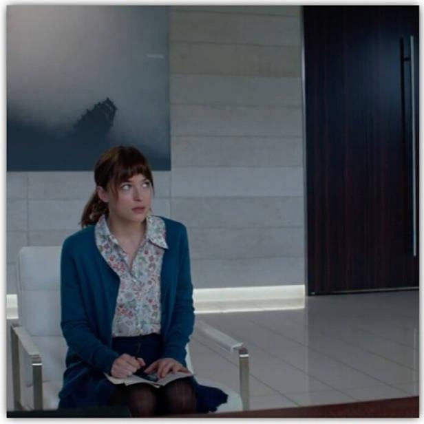 Dakota Johnson como Ana Steele.