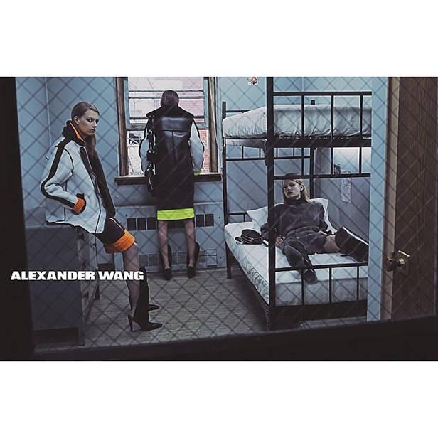 Anuncio Alexander Wang A/W 2014-15.