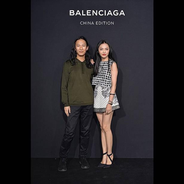 Alenxander Wang para Balenciaga.