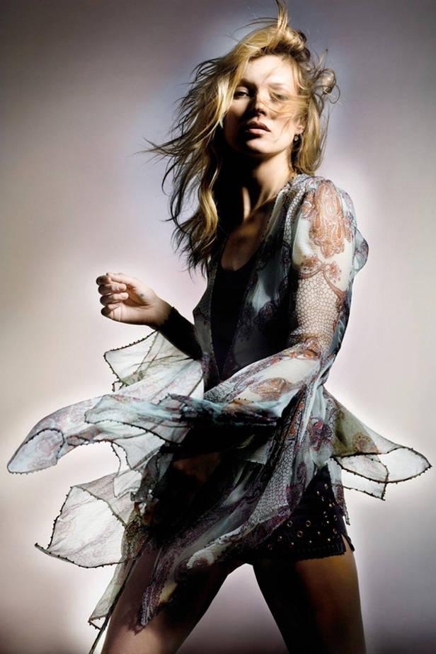 Kate Moss para TOPSHOP