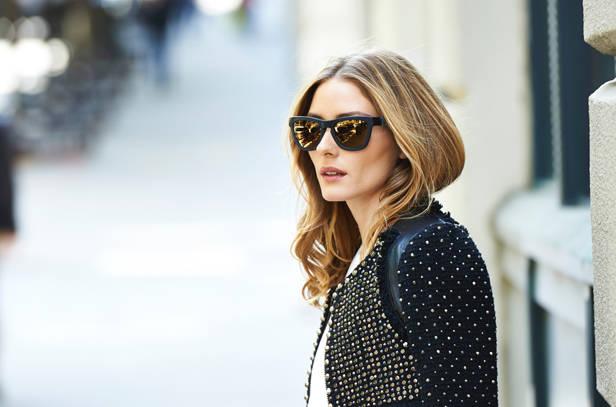Olivia Palermo con sus gafas Westward Leaning