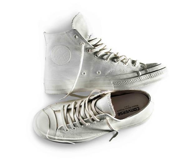 Zapatillas blancas de Maison Martin Margiela para CONVERSE