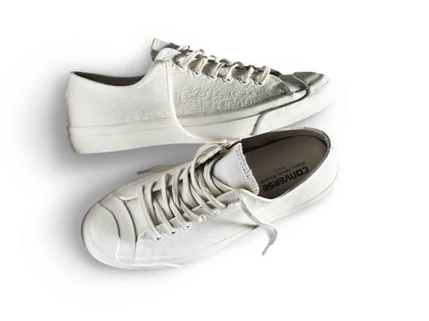 Zapatillas blanca de Martin Margiela para CONVERSE