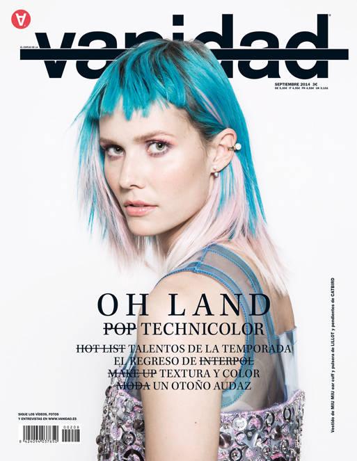 Oh Land en la portada de nuestro número de septiembre