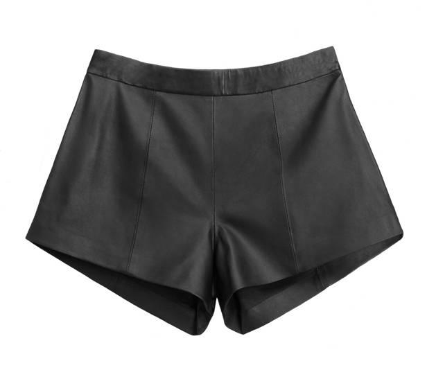 Shorts de cintura alta.