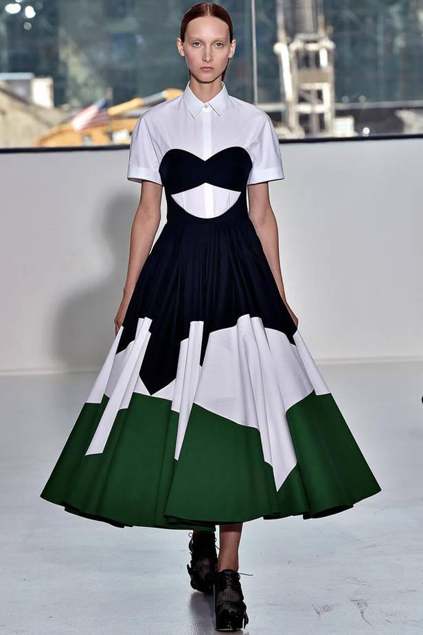 Falda linea A.