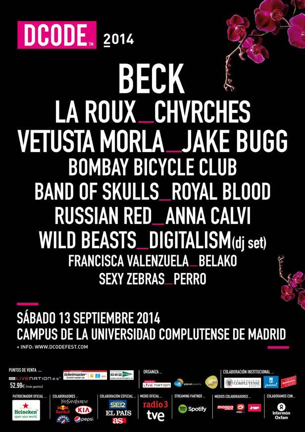 Cartel DCODE Festival 2014