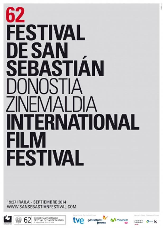 Cartel Festival de cine de San Sebastián 2014