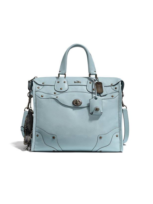 Bolso azul pastel Coach