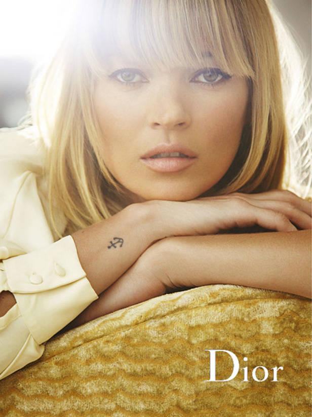 Campaña Dior con Kate Moss