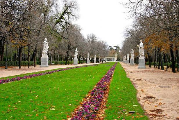 Jardines Parque del Retiro, Madrid