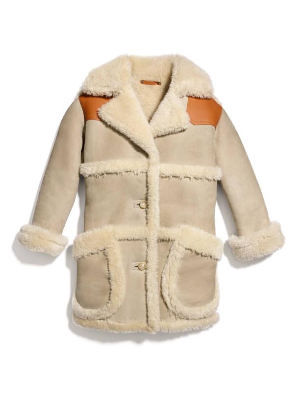 Coach vanidad elige abrigos