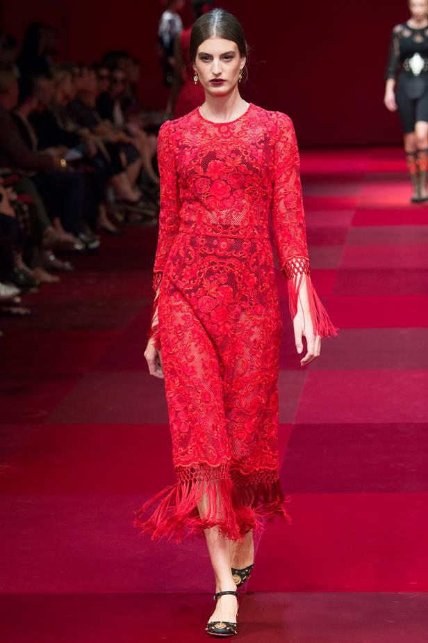Dolce & Gabbana/ MILÁN Las 5 tendencias de las semanas de la moda que necesitas