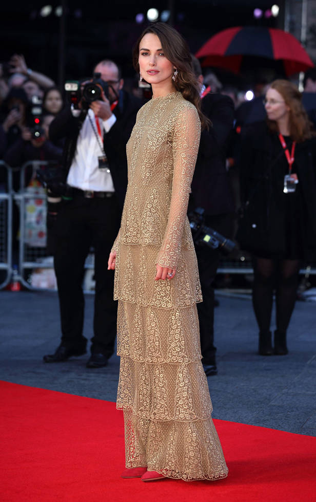 Keira Knightley, looks de la semana, vanidad
