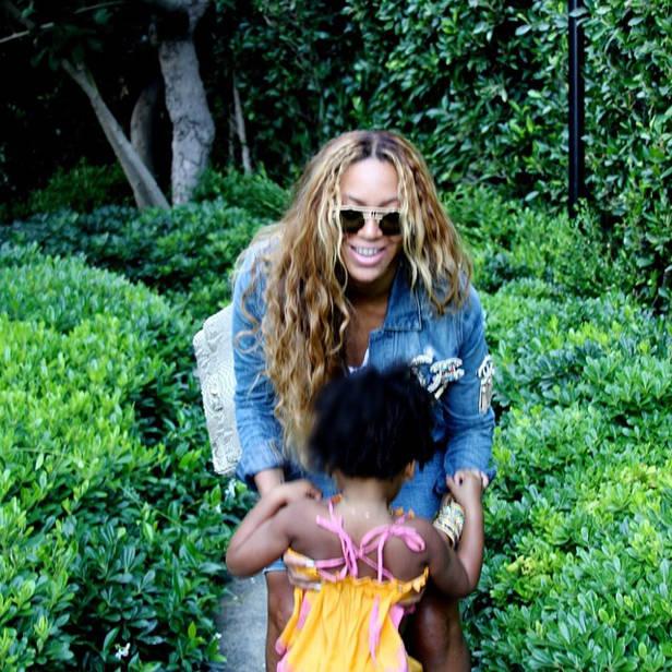 Beyoncé y su hija Blue Ivy (@beyonce)