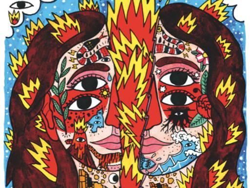 Cartel de Ricardo Cavolo extrañas festivales mad live vanidad