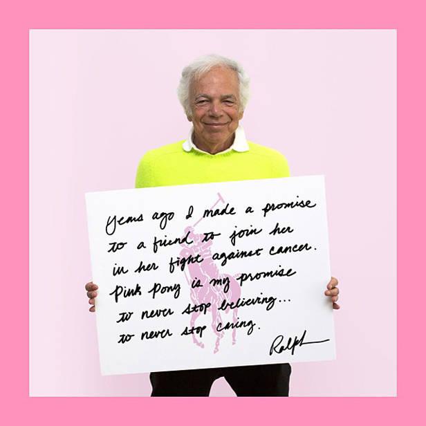 Ralph Lauren anima a unirse al reto #PinkPonyPromise (@ralphlauren)