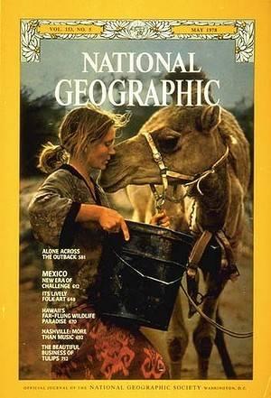 Portada real de National Geographic con Robyn Davidson. el viaje de tu vida estrenos de cine vanidad