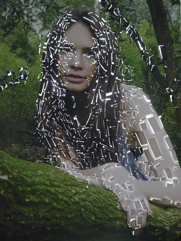 Ninfa from the forest/ Juan Saliquet