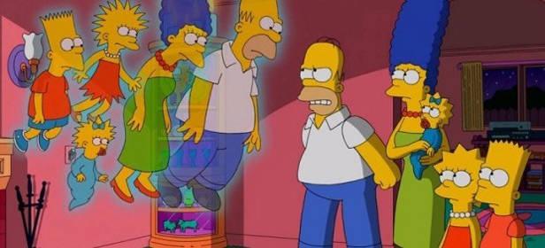 Los Simpson lo que sube y baja vanidad