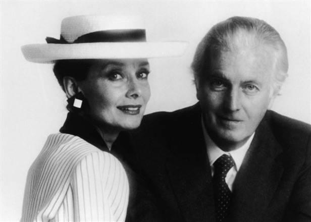 Hubert de Givenchy y Audrey Hepburn lo que sube y lo que baja vanidad