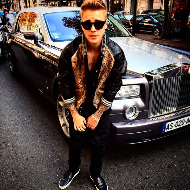 Justin Bieber @justinbieber