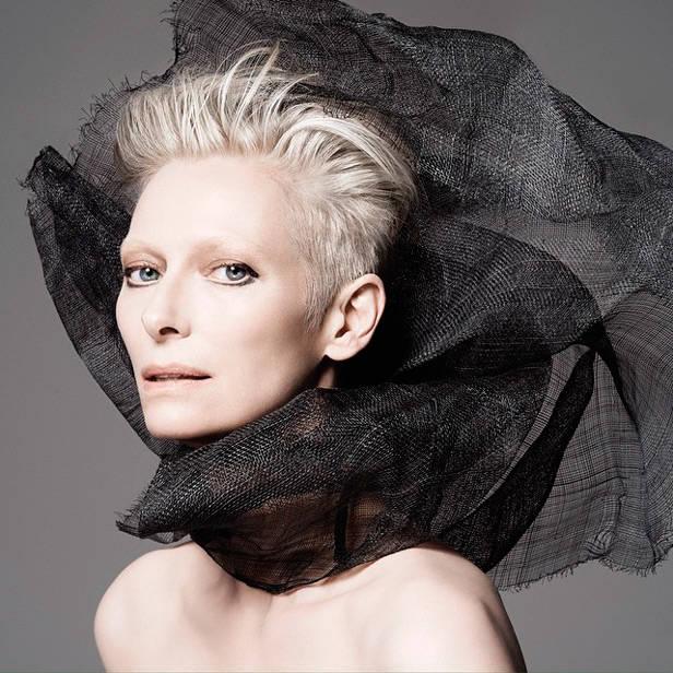 Tilda Swinton @narsissist beauty novedades vanidad