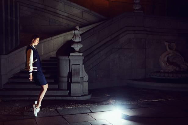 editorial de moda la noche es joven