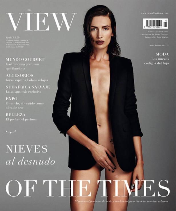 nieves álvarez view of the times vanidad