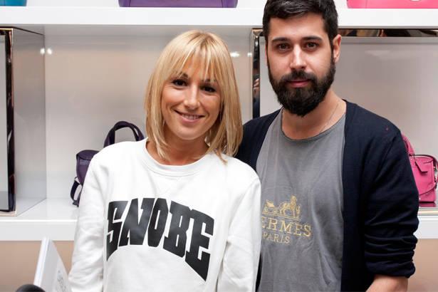La estilista Osiris Martínez y el diseñador Moisés Nieto