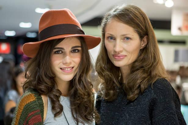 La actriz Sandra Martín y la directora de Vanidad Olga Liggeri