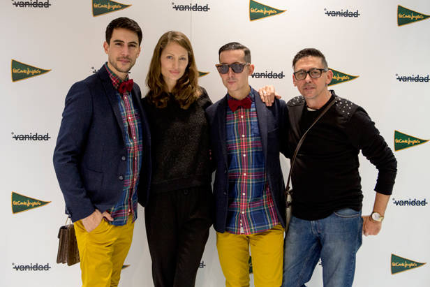 Pepino Marino, Olga Liggeri, Crawford y Fran Marto