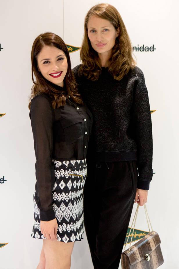 La actriz Andrea Duro y nuestra directora general Olga Liggeri