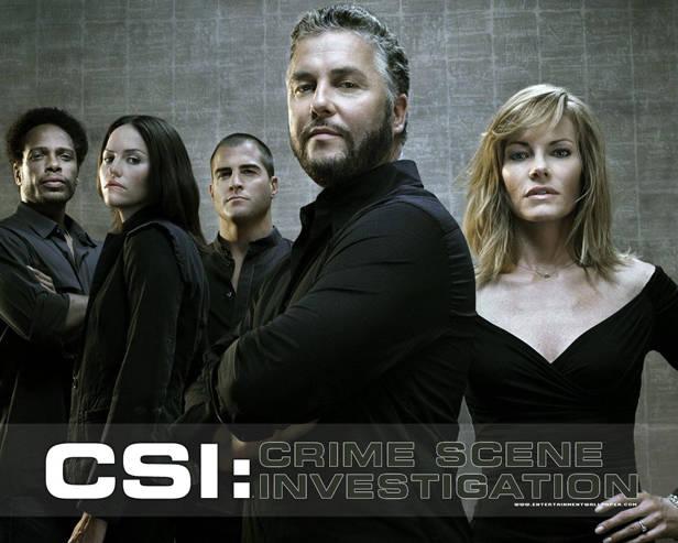 Protagonistas de la serie CSI.