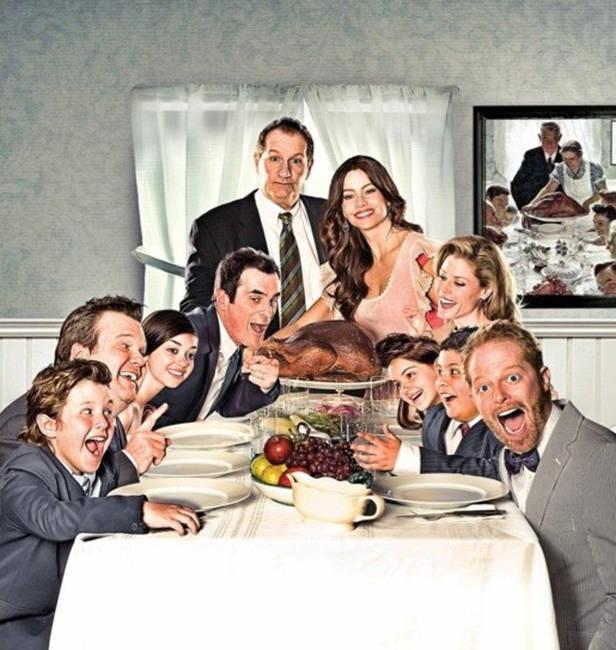 Modern-family-accion-de-gracias-Vanidad
